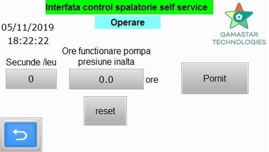 Automatizari spalatorii self-service