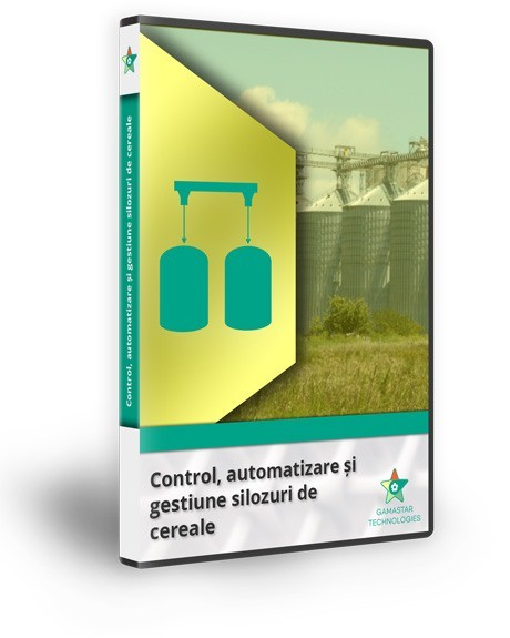 Control, automatizare si gestiune silozuri de cereale